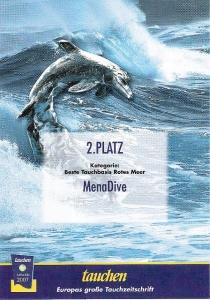 Menadive Tauchen Award