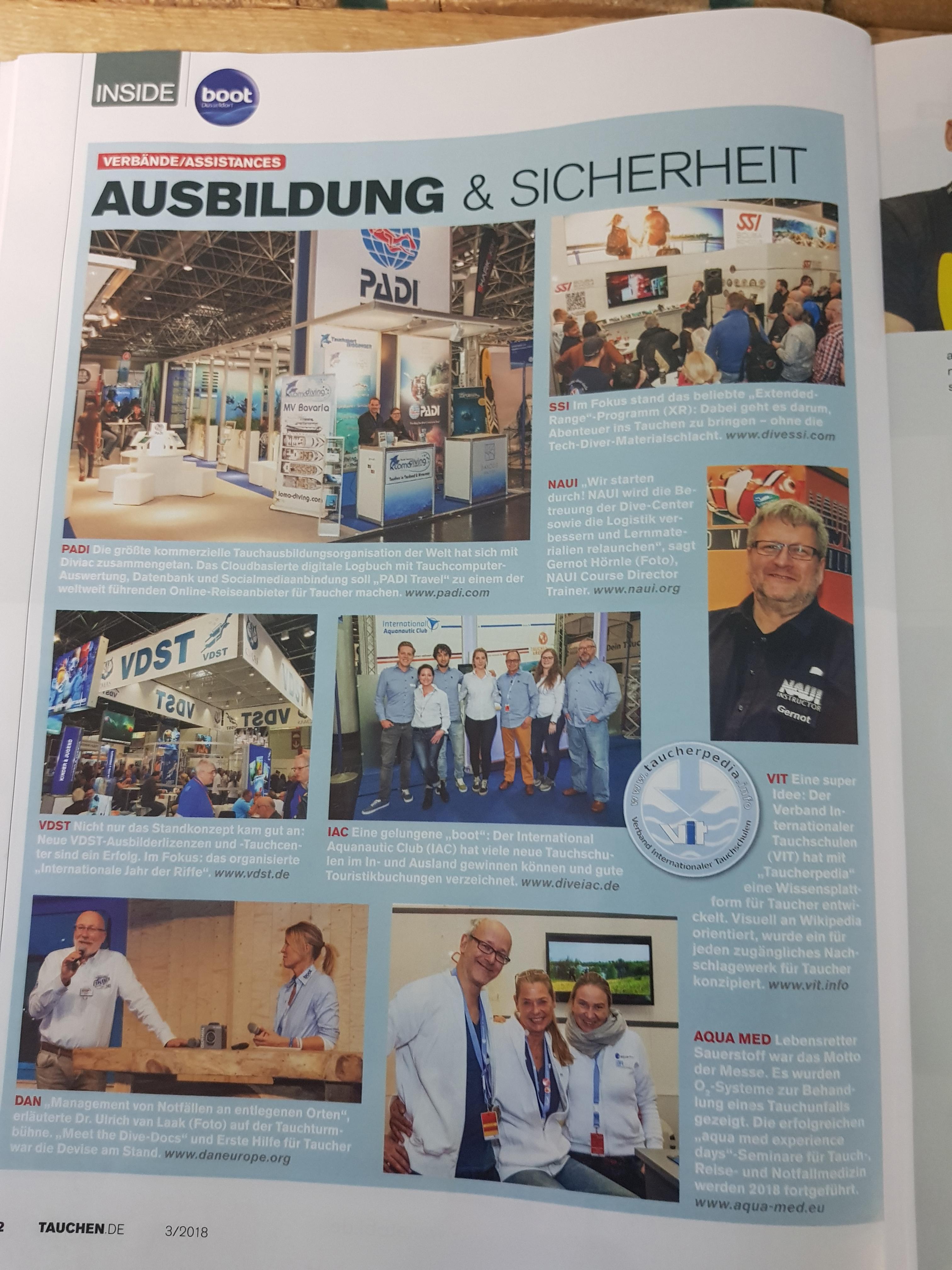 Gernot Hörnle Experte Tauchen Tauchkurs Wiesbaden Mainz Zeitung