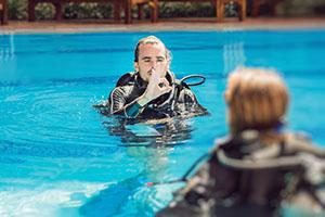 Diving instructor Tauchkurs Tauchen Mainz Wiesbaden